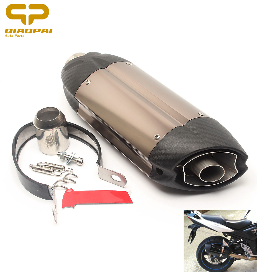 Automobiles & Motorcycles Exhaust & Exhaust Systems Energetic Universal Modified Akrapovi Muffler Exhaust Motorcycle Pipe For Suzuki Gsxr L1 L2 L3 K8 K9 For Kawasaki Z750 Z800 Er6n