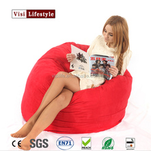 Visi 3FT Foambag Living Room Sofa Couch Lounge Big Boy Foam Bag Memory Foam Bed Originality Living Room Sofas Cover Wholesale