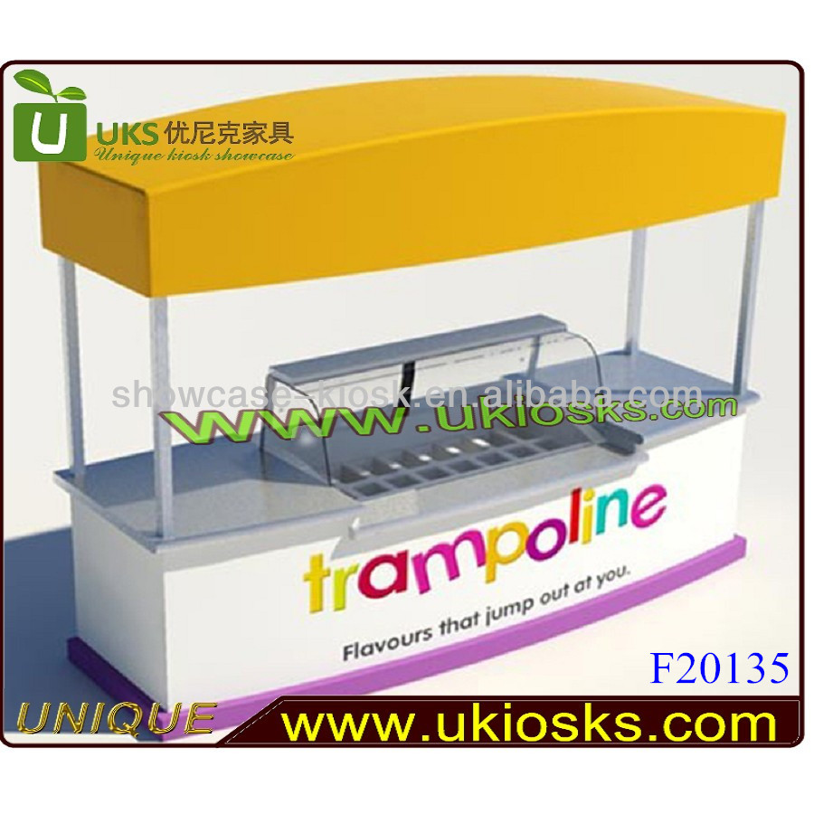 China made mobile coffe cart/ ice cream cart/ crepe cart design for sale