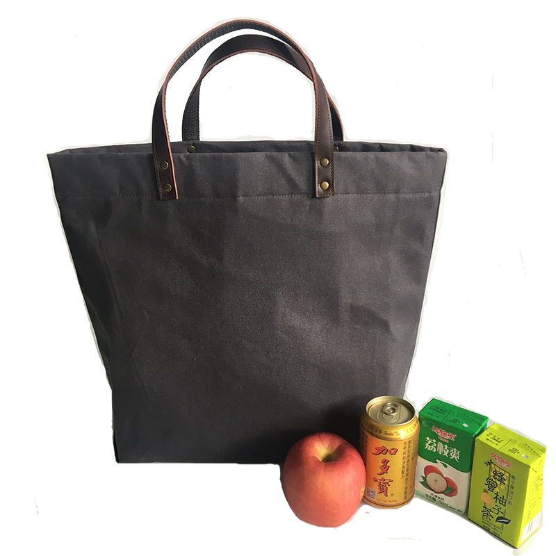 5085a555286 Insulated Reusable Grab Bag Grocery Shopping Tote Holds Up To 40 Lbs ...