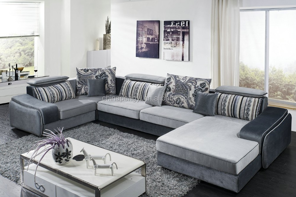 Modern Design Fabric Sofa Sala Set Fabric Sofa Set Designs