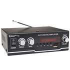 Kinter T2 AC90-240V/DC12V new model sound amplifiers audio home stereo amplifier power with single cycle/MP3/USB/TF/BT/FM