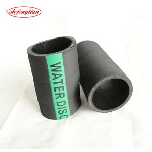 6 inch high pressure black soft epdm air/water hose / pipe