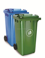 hospital medical street garden recycle plastic wate bin container price foot pedal wheels