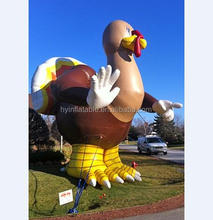 Hot sale giant cartoon animals modle inflatable turkey,inflatable turkey for festival display