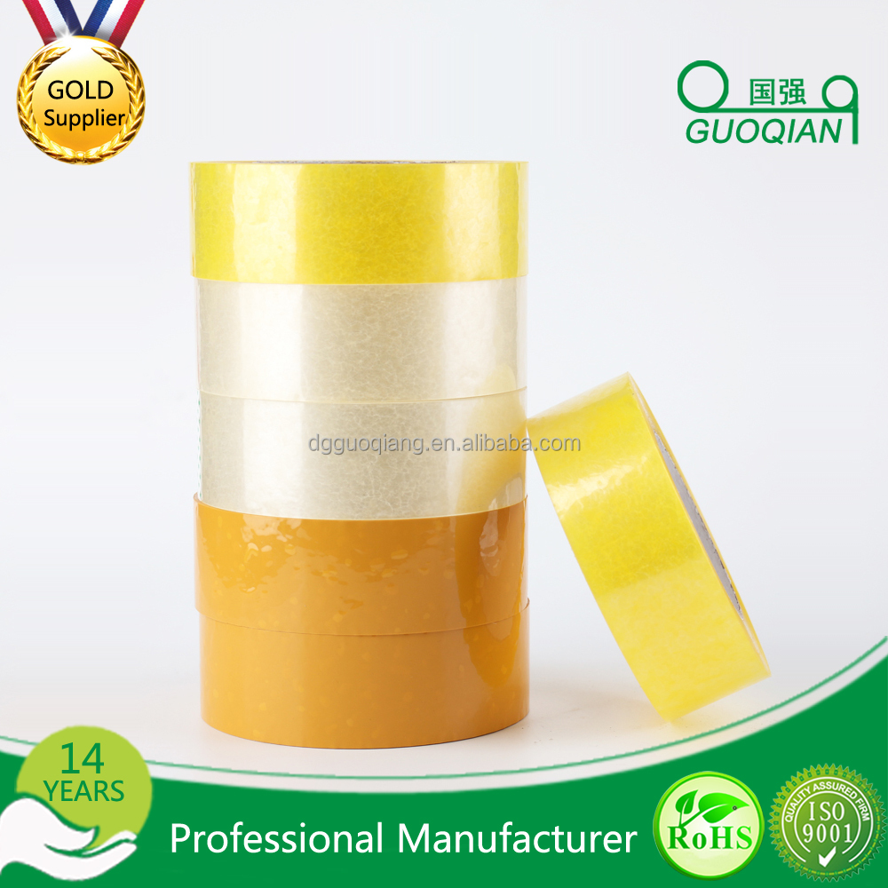 FREE SAMPLE Hot Sell Transparent Bopp Packing Tape For Sealing / Hot Fix Tape