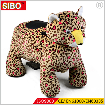 Children playground popular electric animal ride on car for shopping mall