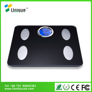 Blue Anatomy Smart Body Fat Bluetooth Free Android Le Iphone Electronic Gl Top Bathroom Scales