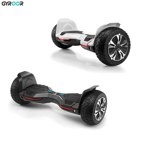2017 professional best motors 8.5 inch off road tire hoverboard with aluminum shell
