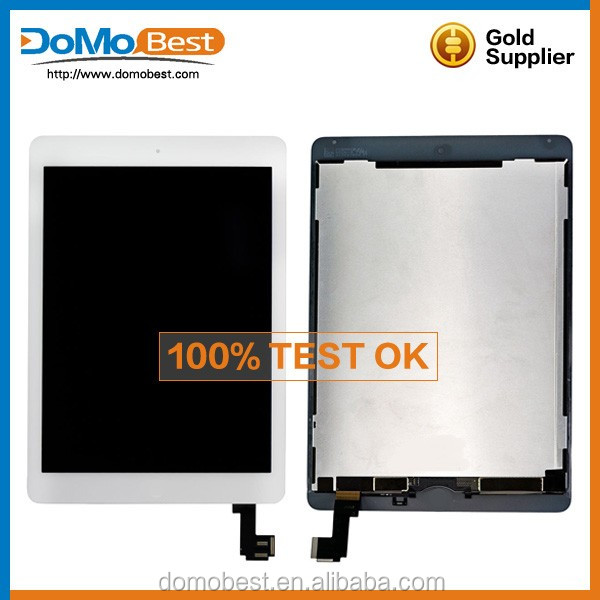 Original LCD Touch Digitizer Screens Assembly for iPad Air2 /iPad 6,Lcd For Ipad 6