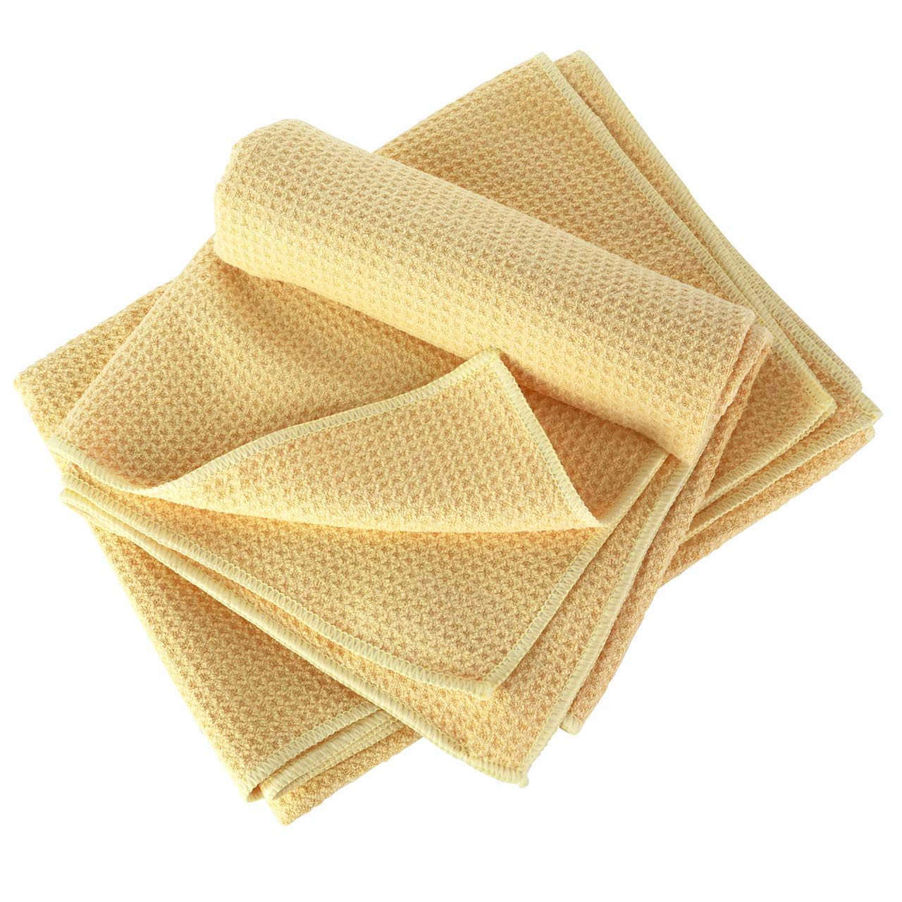 Amazon Micro Fiber Waffle Pineapple Cleaning Drying Cloth