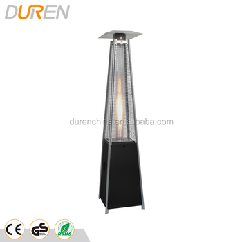 Outdoor infrared glass tube gas heater 13000W with CE CSA AGA ISO