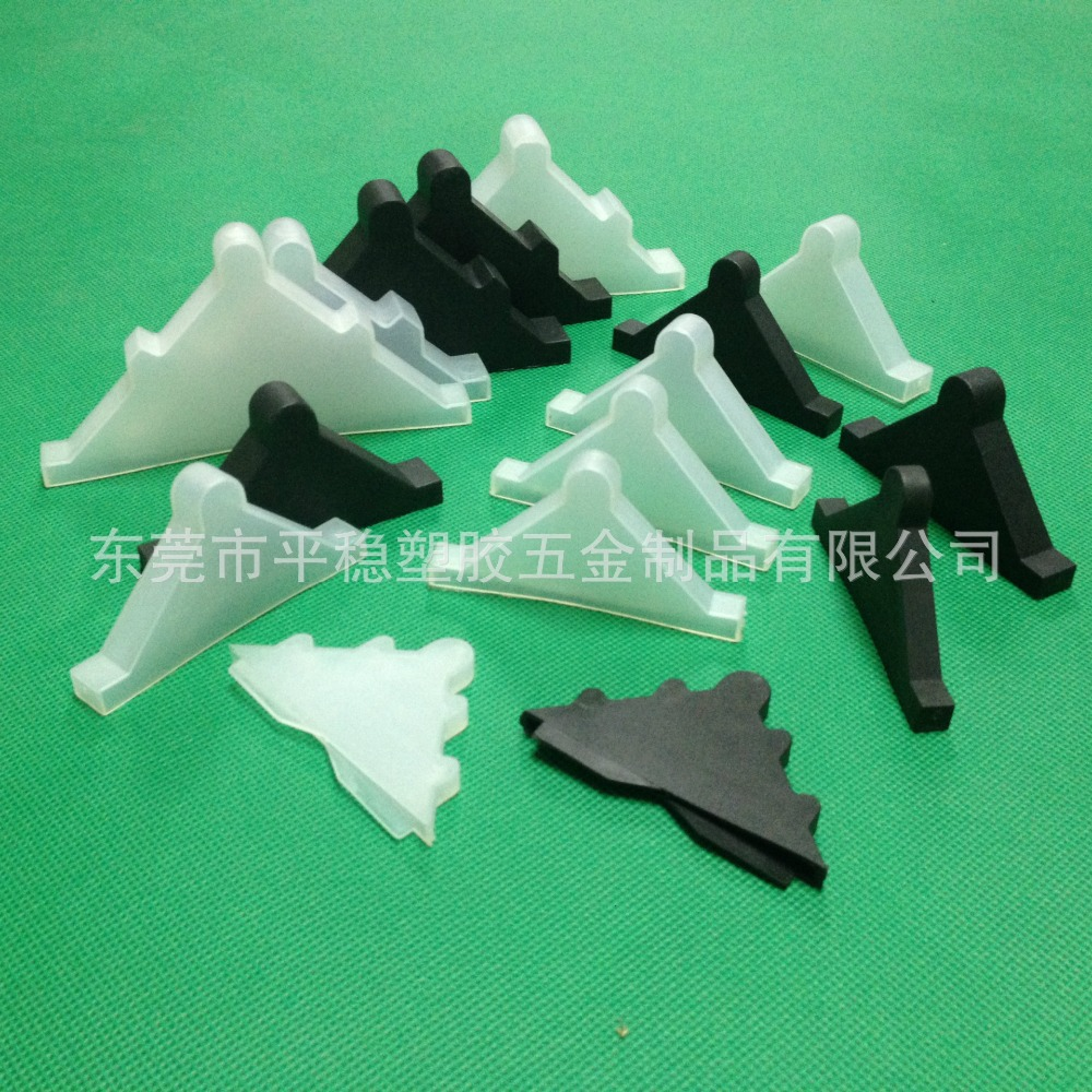 50*50*4mm plastic corner protectors for protect 4mm glass