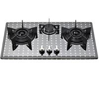 Top grade 3 burner gas stove with cylinder