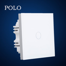 hot sale new design 1gang 1way or 1gang 2way smart touch switches for home automation