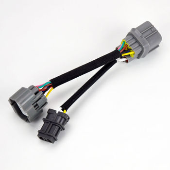Obd1 To 10-pin Obd2 Distributor Jumper Harness Engine Acura Honda Wire Obd Civic Wiring Harness on
