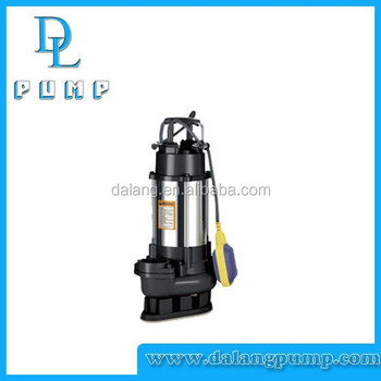 V750 series stainless steel drainage pump sewage for Submersible hydraulic pump motor