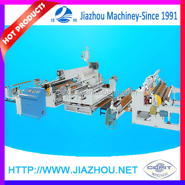 Full Automatically PE Multi-layer Extrusion Coating Roll Industrial Paper Laminating Machine with Auto Edge Trim