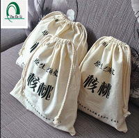 Wholesale Cotton Muslin Drawstring Bag, Organic Drawstring Bag