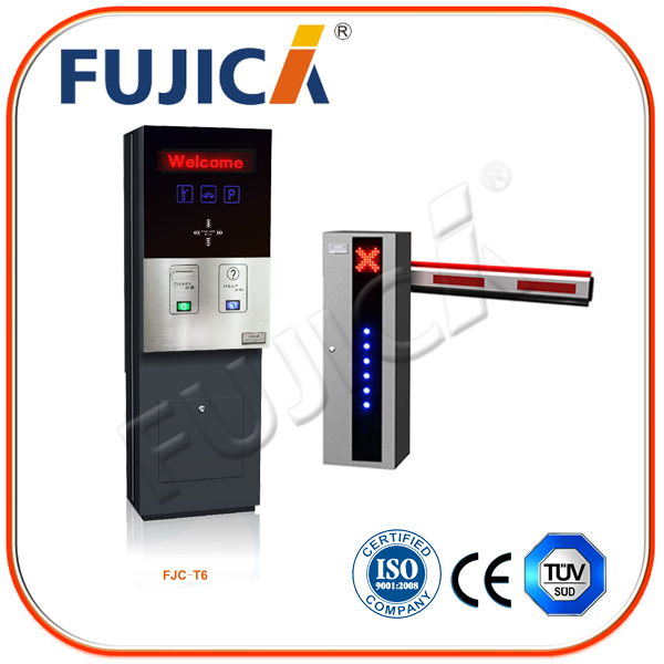 Vehicle Control vehicle parking system with parking guidance