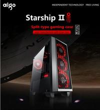 aigo Starship 2 full transparent DIY Gaming Computer Case/PC Case