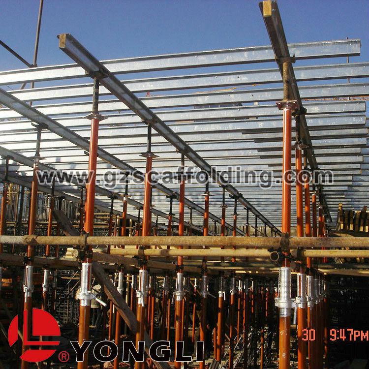 Pole Shoring Jacks : Concrete scaffolding adjustable prop shoring jack post for
