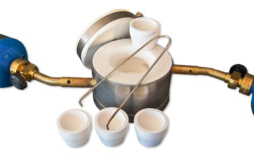 Gold Smelting Cupelling Kit - Gold Mining Equipment