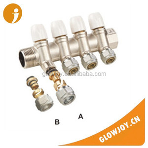 (FT-2201)original color or nickel plated nipple brass 4 way copper fitting, tube fitting,pipe fitting dimensions