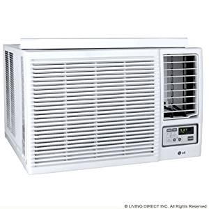 Lg Lw2415hr Window Air Conditioner - 22, 500/23, 000 Btu Cool 9, 400/11, 600 Btu Heat