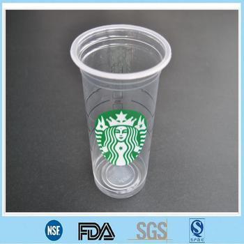 Starbucks Pp Plastic Cups/logo Printed Pp Cups/pp Plastic ...