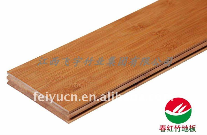 Carbonized horizontal solid bamboo product