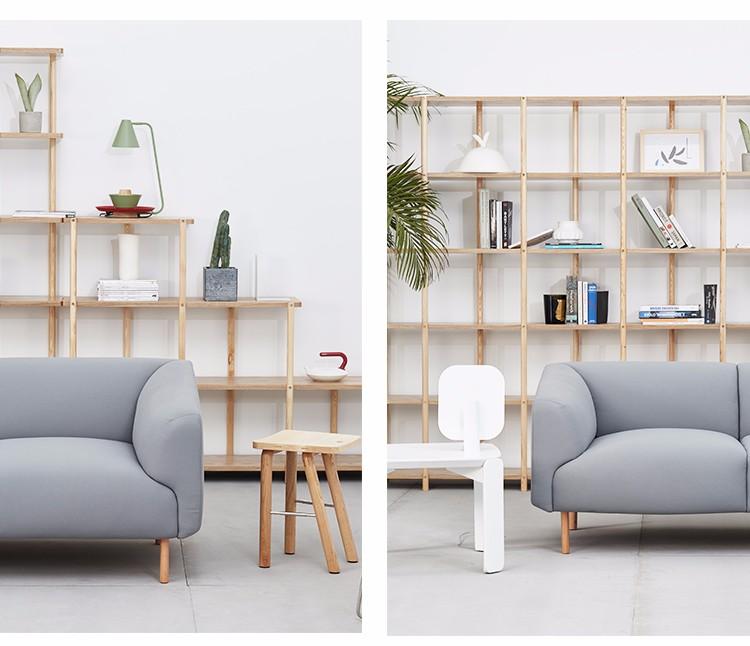 Brand Name Latest Fabric Lobby Office Scandinavian Simple