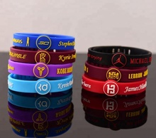 Promotionele Aangepaste Silicone Verstelbare Polsband Armband Basketbal CA1011