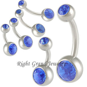 Sapphire Belly Button Ring Sapphire Belly Button Ring Suppliers And
