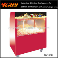 Guangzhou best seller display Popcorn Warming Showcase BV-920