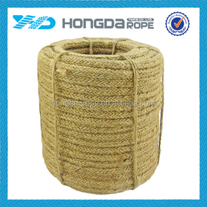 2 ply hard 100% raw material colored jute twine