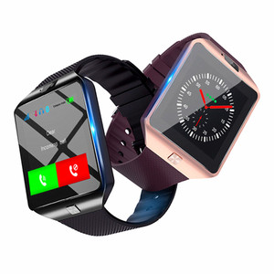 2019 Hot sale Smart watch DZ09 Smartwatch with Camera Bluetooth Smartwatch  Support Android and for iphones