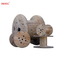 large wooden cable spools for sale