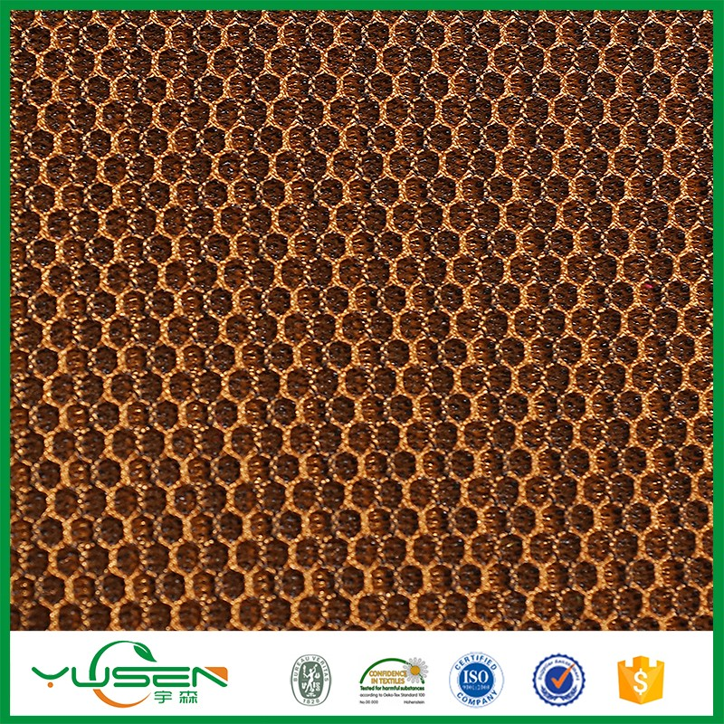 Polyester knit mesh fabric,Airflow type 3D mesh fabric
