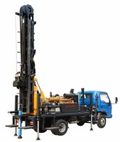 3 years warranty KAISHAN 300m depth truck mounted water well drilling rig machine price for sale