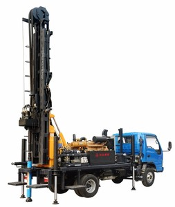 3 years warranty | KAISHAN 300m depth truck mounted water well drilling rig machine price for sale