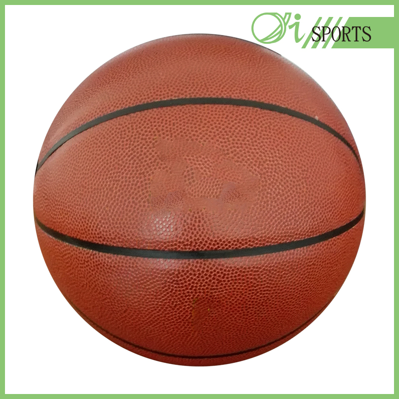 Sport match shiny pvc basketball