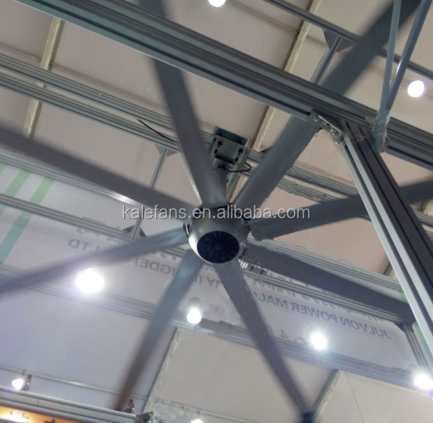 Stock 4.2M HVLS Brushless DC Decorative Ceiling <strong>Fan</strong> With No Light
