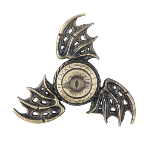 Game of Thrones Dragon Fidget Toy Hand Spinner Metal Finger Stress Spinning Tops