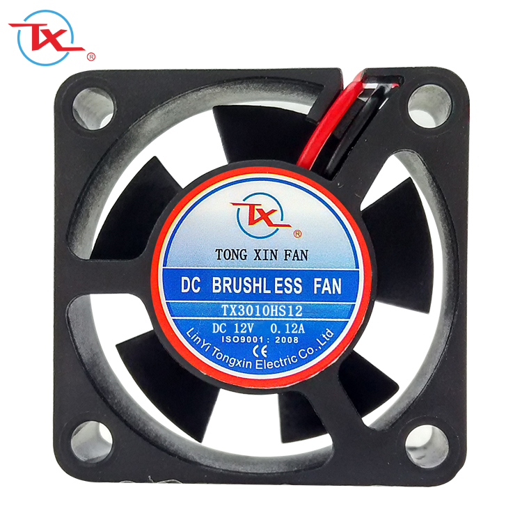 30x30x10mm 3010 30mm borstelloze hoge rpm 12 v dc fan led