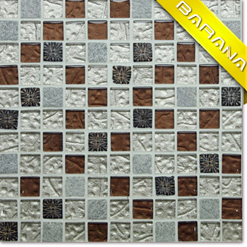 A422 Mosaic Tile Iridescent Glass Mosaic Tile