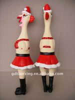 natural latex turkey pet toy,latex chicken toy for pet