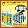 100% Neutral RTV Building Materials Removable Silicone Sealant