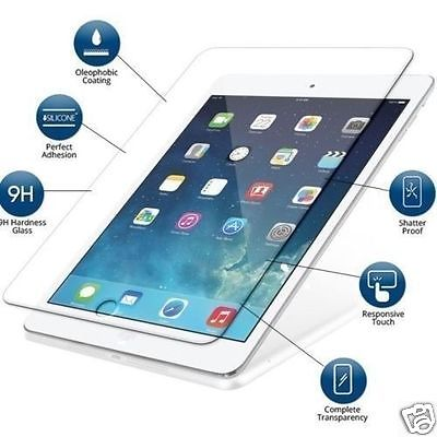 Genuine Premium Tempered Glass Film Screen Protector For Apple <strong>iPad</strong> 1 2 3 4