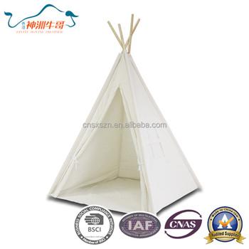 Kids Teepee Inflatable Solid Color Tent Child Teepee With Wood - Buy  Inflatable Teepee Tent,Child Teepee Play House,Kids Indoor Teepee Product  on